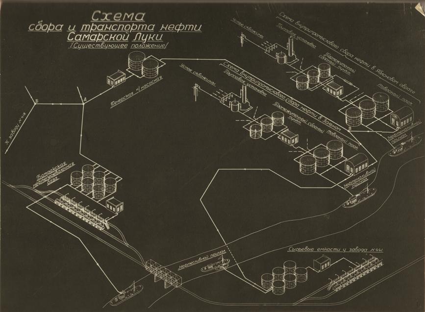 мухановская нефть схема завода